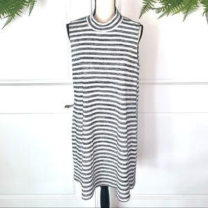 Market & Spruce Sleeveless Striped Dress